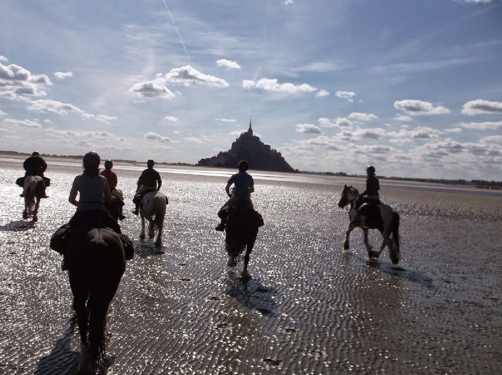 Randonnée en baie de Mont Saint Michel